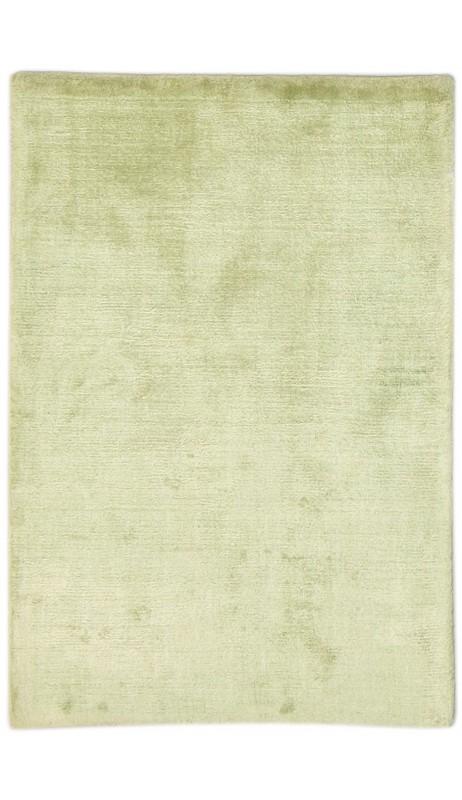 Modern Handloom Silk Sage 2' x 3' Rug - pr000643