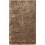 Modern Handloom Silk Brown 2' x 3' Rug - pr000646
