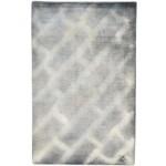 Modern Handloom Silk Grey 2' x 3' Rug - pr000649