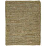 Modern Hand Knotted Jute Brown 2' x 3' Rug - pr000763