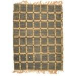 Modern Hand Woven Jute / Silk (Silkette) Charcoal 2' x 3' Rug