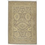 Traditional Hand Knotted Wool Brown 2' x 3' Rug - rh000576