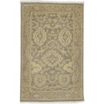 Traditional Hand Knotted Wool Brown 2' x 3' Rug - rh000582