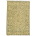 Traditional-Persian/Oriental Hand Knotted Wool Sage 2' x 3' Rug
