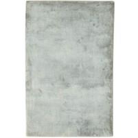 Modern Handloom Silk Grey 2' x 3' Rug - pr000636