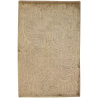 Modern Handloom Silk Brown 2' x 3' Rug - pr000644