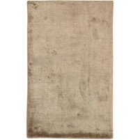 Modern Handloom Silk Brown 2' x 3' Rug - pr000650