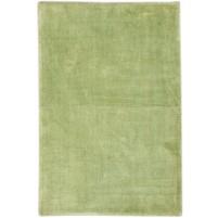 Modern Handloom Silk Green 2' x 3' Rug - pr000654